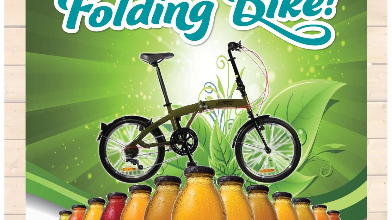 Refresh Your Ride: Win a Citizen Folding Bike from Honest Tea!