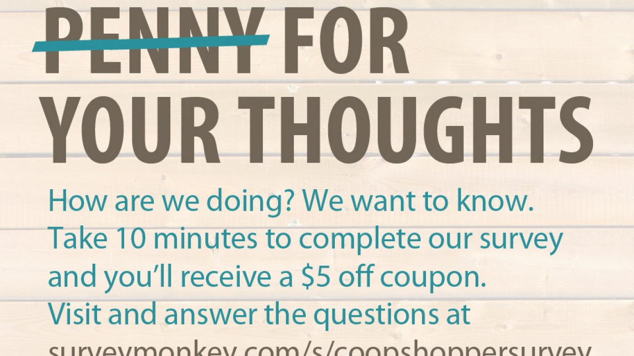 Five Bucks for Your Thoughts