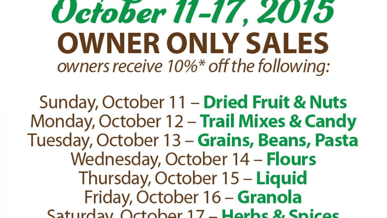 Buy in Bulk and Save: It's National Bulk Food Week!