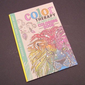 Color Therapy Coloring Book