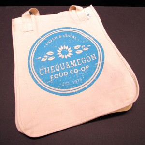 Chequamegon Food Co-op Logo Canvas Bag