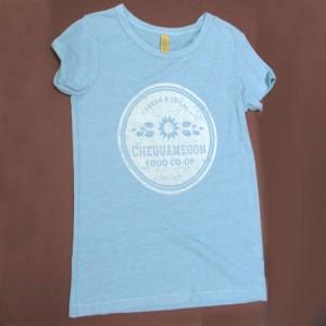 Chequamegon Food Co-op Logo T-shirt
