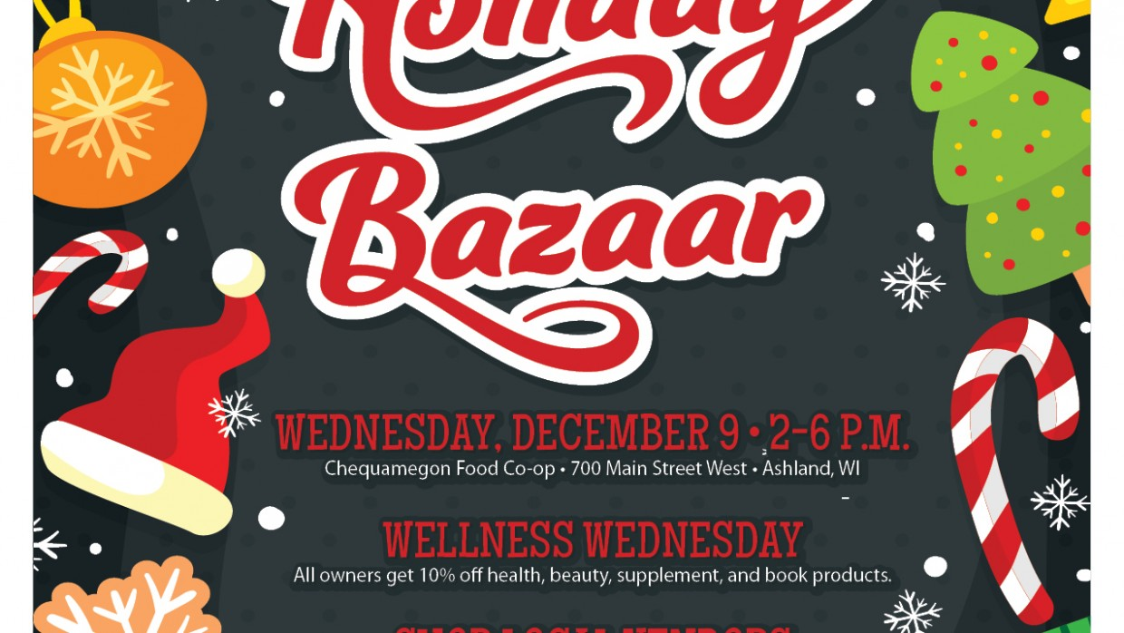 Shop Local at Our Holiday Bazaar