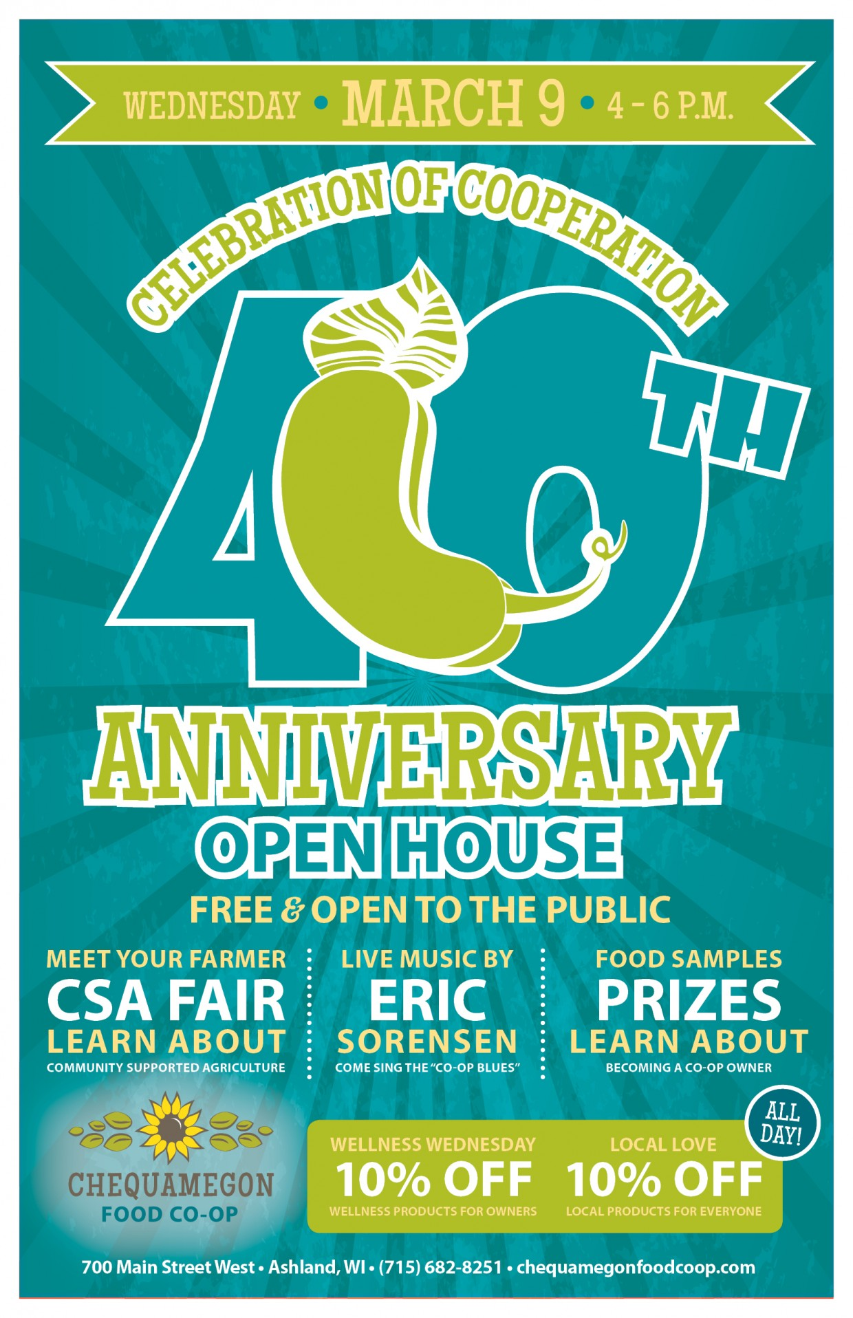You're Invited: It's Our 40th Birthday!