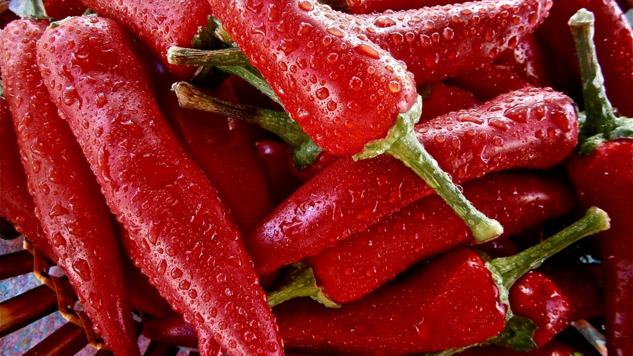 What's Fresh? Hot Peppers!
