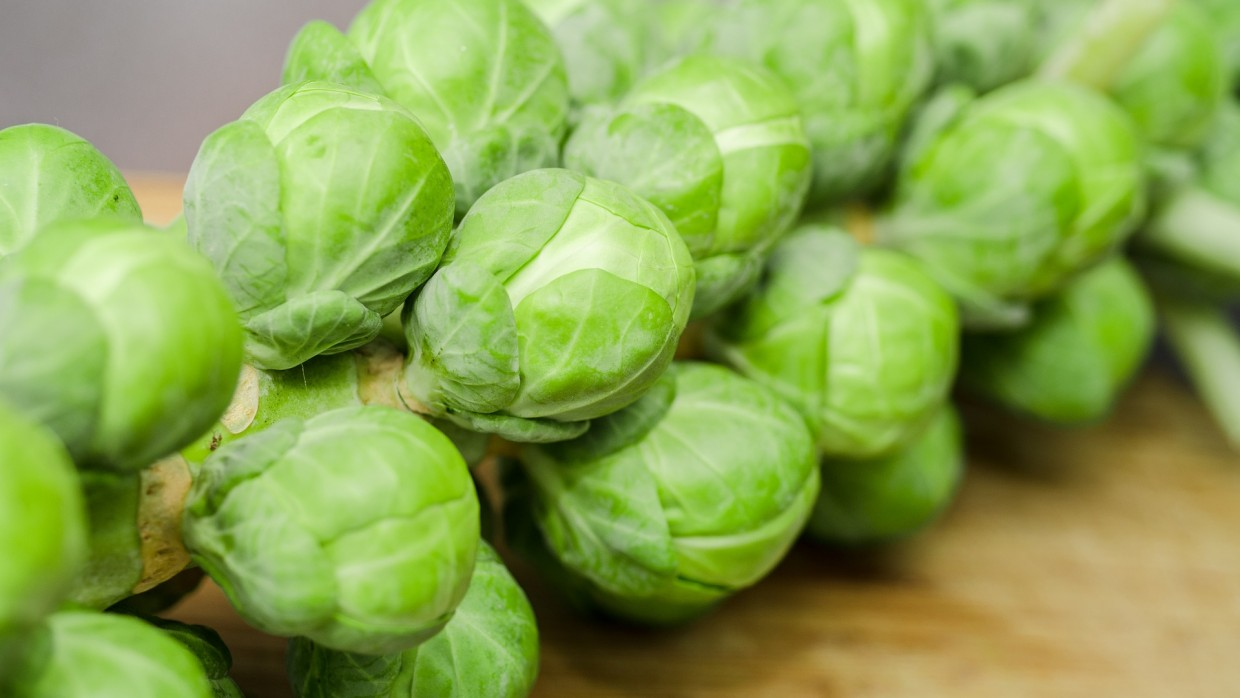 What's Fresh? Brussels Sprouts!