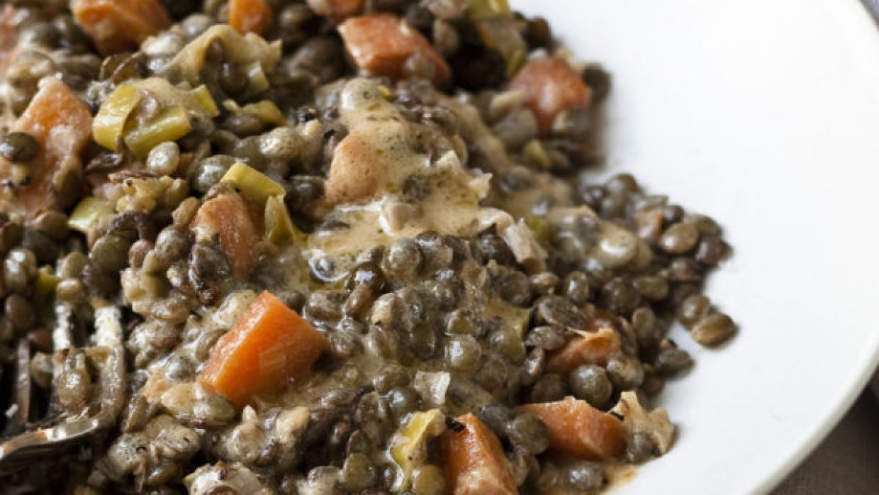 French Lentils à la Quarantine