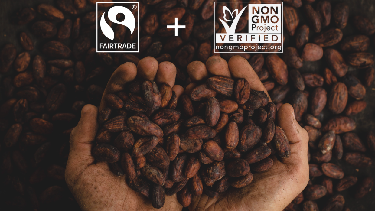 Celebrate Fair Trade Month AND Non-GMO Month This October