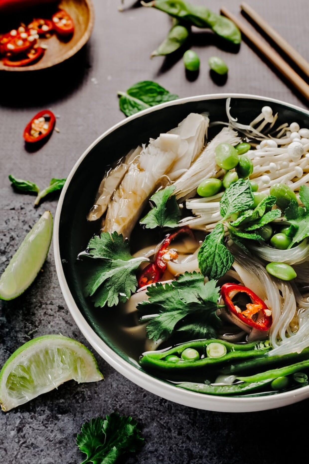 Vegetable Pho $7 Pre-order Dinner