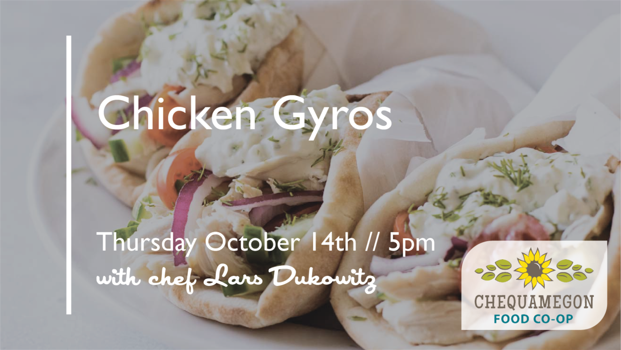 Cooking with Lars: Chicken Gyros